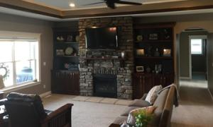 residential-family-room basic cleaning